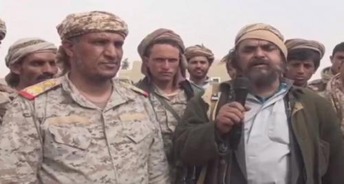 مسؤول أمني كبير وعشرات العناصر التابعة لميليشيا الحوثي يعلنون انضمامهم للجيش الوطني