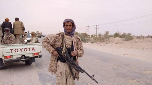 قوات النخبة الشبوانية تأمن مركز محافظة شبوة وتستحدث نقاط تفتيش على مداخلها