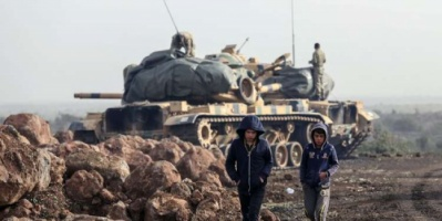 الجيش التركي يعلن مقتل «63» مسلحا كرديا بعفرين