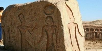 مصر: العثور على لوحة أثرية للملك رمسيس الثاني