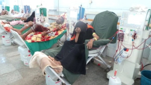 أطباء الغسيل الكلوي بتعز يناشدون المنظمات الدولية دعمهم بالمستلزمات الطبية