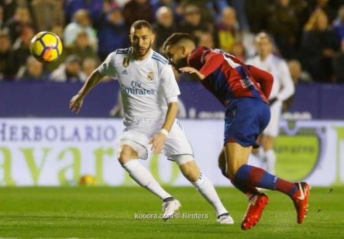 ريال مدريد يتعثر مجددا ويسقط في فخ التعادل أمام ليفانتي