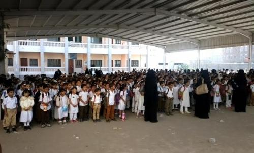 طلاب العاصمة عدن يعودون إلى مدارسهم بعد استقرار الحالة الأمنية في المدينة