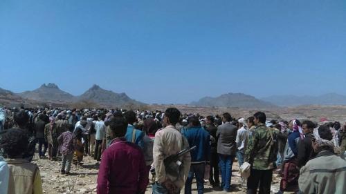 المئات من ابناء مريس يشيعون جثمان الشهيد زعيم علي محمد