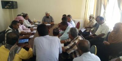 مدير عام التواهي يناقش مع الصندوق الاجتماعي للتنمية الية تنفيذ عدد من مشاريع تحسين المدينة