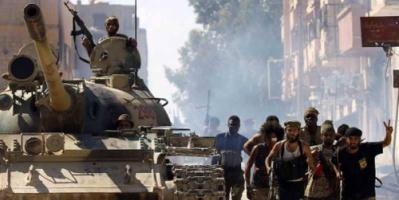 ضبط أجهزة اتصال قطرية وذخائر دعم للإرهابيين في بنغازي