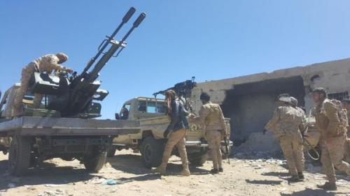 بدعم التحالف.. الجيش الوطني يحرر جبل الضراوية في صعدة