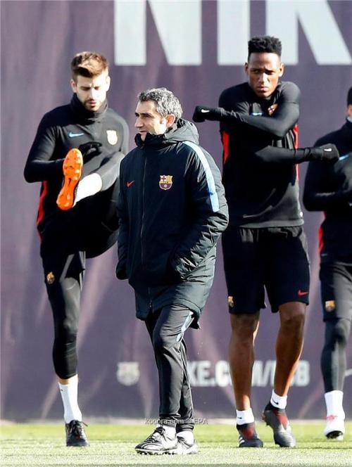 مفاجأة في تدريبات برشلونة قبل مواجهة فالنسيا