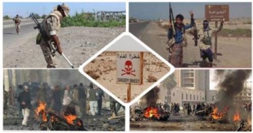 غارات جوية وقصف مدفعي مكثف على مليشيا الحوثي في صرواح مأرب
