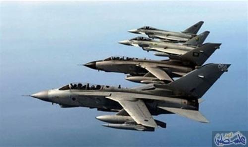 طيران التحالف يدمر تعزيزات لمليشيات الحوثي شمال وشرق مدينة حيس