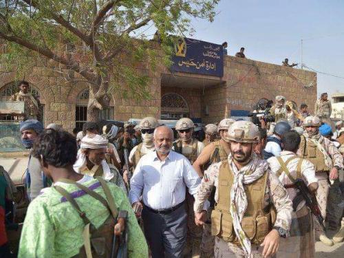 الدعم الإماراتي في حيس امتداد لتحرير باب المندب