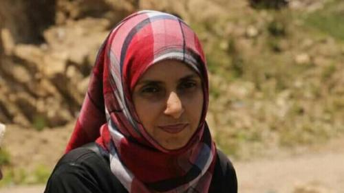 مقتل ناشطة يمنية على يد قناص حوثي في تعز