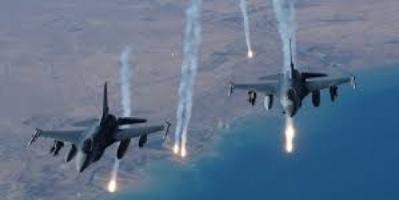 التحالف يستهدف تعزيزات عسكرية للحوثيين في خدير