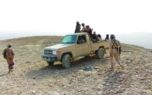 قوات الشرعية تسيطر على وادي املح في صعدة