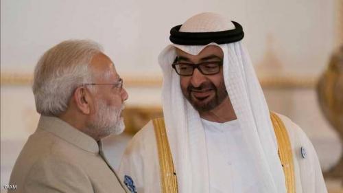 اتفاقات ومذكرات تفاهم بين الإمارات والهند