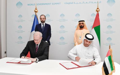 إعلان مبادئ بين وكالتَي الإمارات وفرنسا للفضاء
