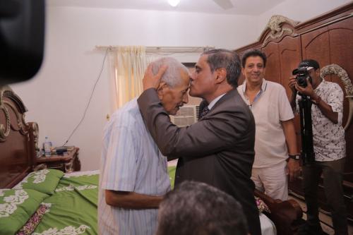 البحسني ينعي الشخصية الوطنية والسياسية المناضل الكبير عبدالله صالح البار