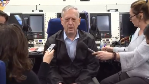 وزير الدفاع الامريكي : إيران تقف خلف كل مشاكل الشرق الأوسط