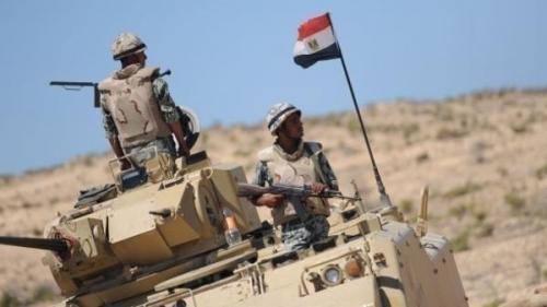 الجيش المصري: مقتل 15 تكفيريا وتدمير عشرات الأهداف بسيناء