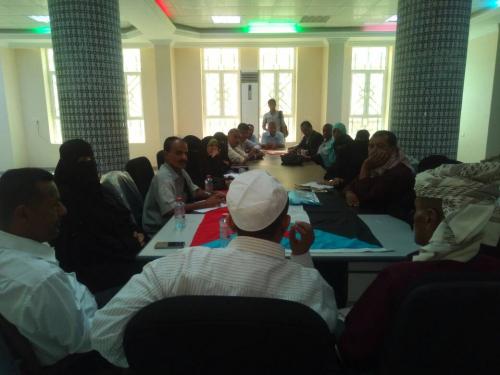 رئيس الدائرة الجماهيرية بالمجلس الانتقالي يلتقي بقيادة نقابة المعلميين والتربويين الجنوبية