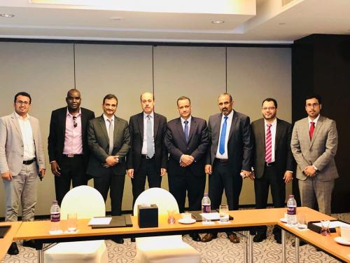 رئيس المجلس الانتقالي يلتقي المبعوث الأممي اسماعيل ولد الشيخ