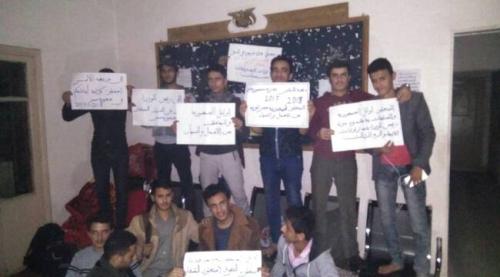 اوائل طلاب الجمهورية يواصلون اعتصامهم في القاهرة لليوم الثاني على التوالي
