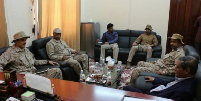 محافظ حضرموت يلتقي قيادة التحالف العربي من المملكة العربية السعودية