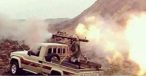 مقتل 5 حوثيين وأسر 4 آخرين بكمين للمقاومة في مديرية جبن شمال الضالع