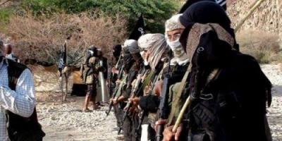 مصدر عسكري : عناصر مفترضة من القاعدة يفاوضون  النخبة للخروج من وادي المسيني بحضرموت