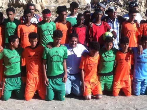 """فريق """"عبادي"""" يتجاوز """"القزعي"""" في الدور الثاني لبطولة شهداء الشعيب للمدارس الأساسية"""