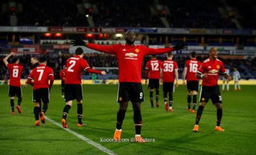 بالصور: لوكاكو يحمل مانشستر يونايتد إلى ربع نهائي كأس الاتحاد