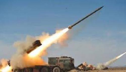اعتراض صاروخ باليستي قي سماء مدينة المخا