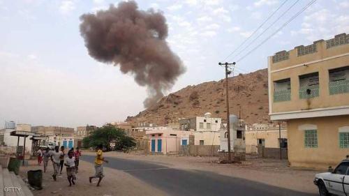 العناصر الإرهابية تلجأ إلى استخدام المفخخات لعرقلة تقدم قوات النخبة الحضرمية في وادي المسيني