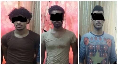 عدن : شرطة القاهرة تلقي القبض على عصابة تقطع وحرابة في خط التسعين
