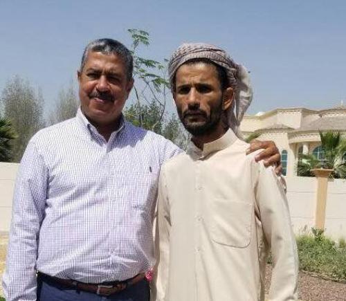 قائد اللواء الاول دعم واسناد يلتقي بدولة رئيس الوزراء السابق خالد بحاح