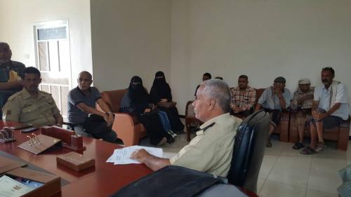 بإشراف مدير أمن العاصمة عدن.. نائب المدير يلتقي منتسبي العلاقات والتوجيه بأمن العاصمة