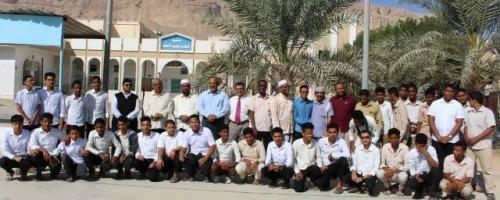 وكيل حضرموت لشئون الوادي والصحراء يدشن برنامج رواد الاختراع لطلاب الثانويات  فرع وادي حضرموت