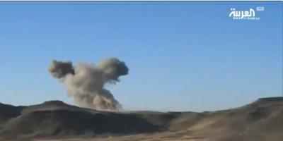 20 غارة جوية للتحالف تدمّر 17 هدفاً حوثياً في صعدة