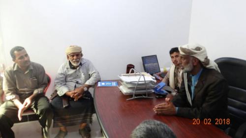 رئيس المجلس الانتقالي بمحافظة شبوة يزور مستشفى عسيلان ويطلع على احتياجاته