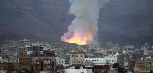 مقاتلات التحالف تفشل محاولات حوثية لنقل صورايخ من مخازن النهدين في صنعاء