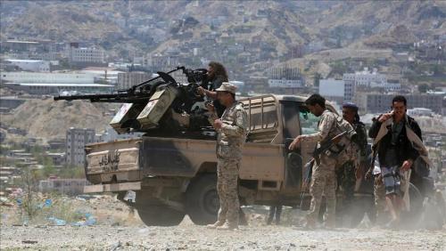 مقتل أحد قادة الألوية الحوثية في موجهات مع الجيش الوطني في الجوف (الإسم+ الصورة)