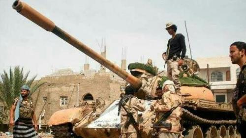 الجيش يتقدم غرب تعز .. ومقتل عناصر حوثية بالهاملي