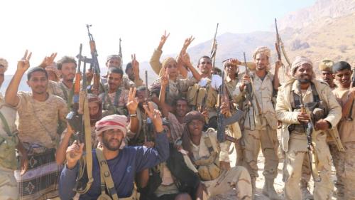 شاهد بالصور النصر والانتصار من داخل  وادي المسيني عقب تحريره من عناصر الشر والارهاب