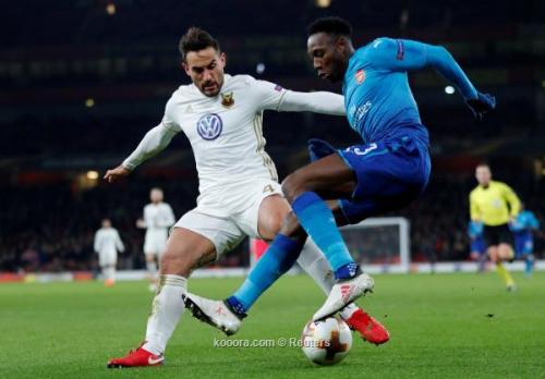 بالصور: آرسنال ينجو من أكبر مفاجآت الدوري الأوروبي