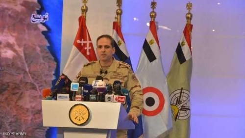 """الجيش المصري يعلن نتائج عمليته الكبرى """"سيناء 2018"""""""