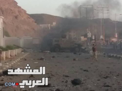 احباط هجوم ارهابي بسيارتين مفخختين كان يستهدف مكافحة الارهاب بالتواهي  «صور»