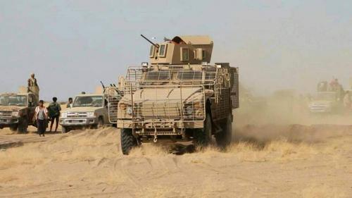 قوات الجيش الوطني تقصف تجمعات المليشيا في البيضاء