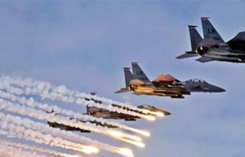 مقاتلات التحالف تستهدف تجمعات للمليشيا في مديرية الحيمة بصنعاء
