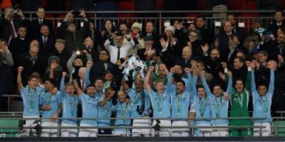 بالصور: مانشستر سيتي يحصد لقب كأس الرابطة على حساب آرسنال