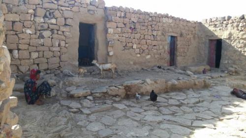 قرية قصابه بالأزارق..عندما يكون الصمت أبلغ من الكلام..!